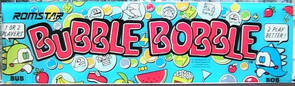 lumière naturelle diffusante bubble bobble romstar taïto 1986